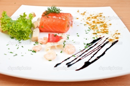 depositphotos_3298753-Delicious-salmon-on-plate-decorated-with-salad-cheese-and-seafoo