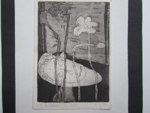 etching by G O