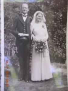 My parents wedding photo.