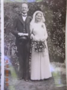 My parents wedding photo.