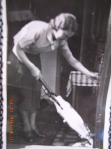 My mother and Hoover