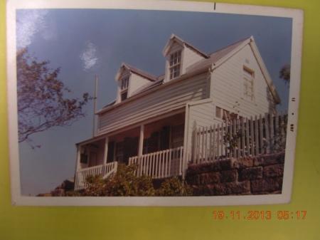 first'rickety' house in Balmain 1968.