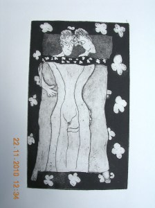 etching 'couple'