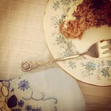 Ginger and date cake