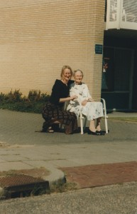 My mother and our Daughter in Holland around 2002