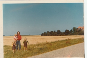 Our young family in Holland 1975-76