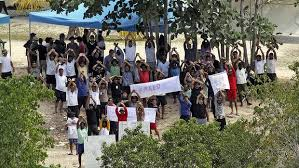Nauru refugee camp