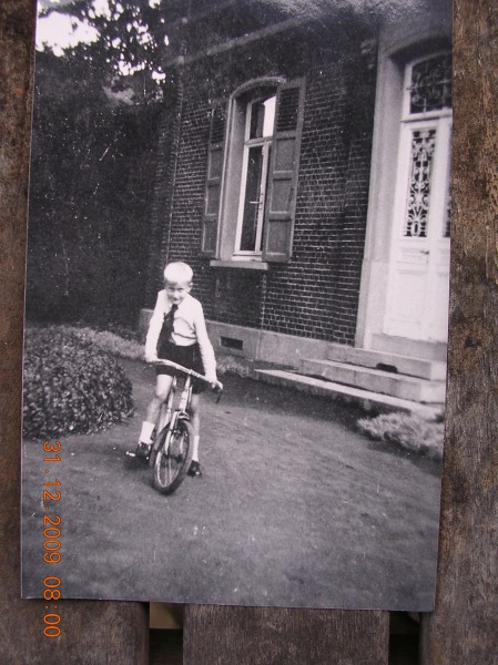 In Belgium at 5 or 6 years. ( to put on weight).After the war.