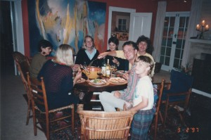 Friends and family of some years ago