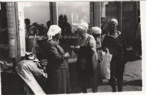 Bartering in the USSR (Moscow)