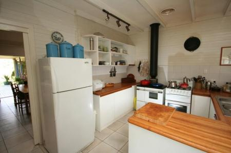 Kitchen of 'give and take'.
