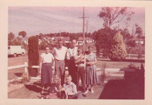Our family about 1960. Frank second from left.