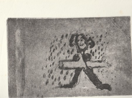 Rain (etching)