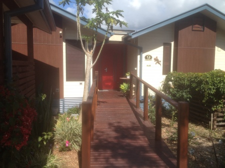 The house in Currumbin Eco Village