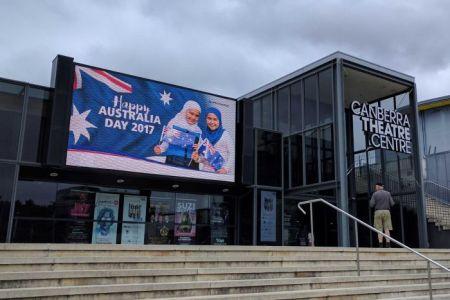 multicultural billboard, Australia